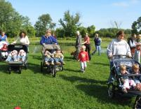The Popular Nature Strollers begins on Thursday, September 20 and continues every Thursday through November 15 at the Outdoor Discovery Center. Photo by Marian Goldin