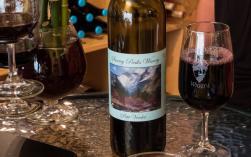 Wine Glass Snowy Peaks