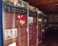 "The H. Lee White Marine Museum welcomes the traveling exhibit, ""War of 1812: A Nation Forged By War,"" now through September 30. The display will be featured along with the Lois McClure during the Oswego Canal Festival over Labor Day weekend."