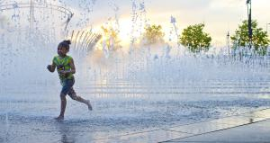 Scioto Mile Fountains