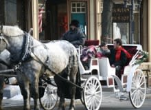 Winter Carriage Rides