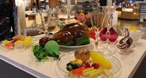 Glass Holiday Feast