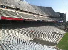 Seating on Concrete Stadiums