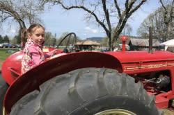 Tractor on the Farm by Taj Morgan