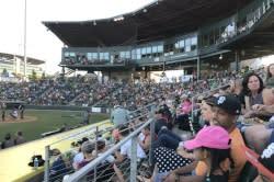 Eugene Emeralds Baseball Game by Taj Morgan