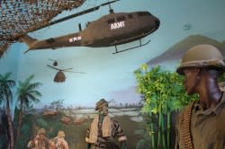 Oregon Coast Military Museum Vietnam Diorama by Angie Riley