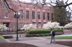 University of Oregon Campus by Andrea Hartman