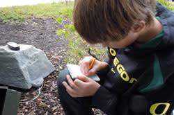 Geocaching Training by Lisa Lawton