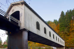 Goodpasture Covered Bridge by David Putzier