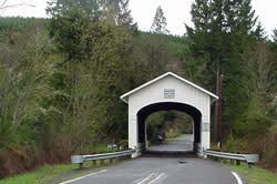 Wendling Covered Bridge by Debbie Williamson Smith