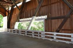 Pengra Covered Bridge Interior Window
