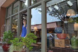 Downtown Eugene Antique Shopping