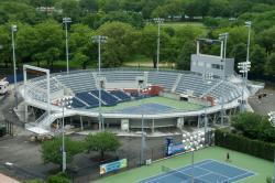 Arthur Ashe stadium aerial view