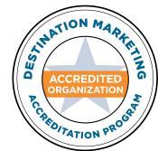 Destination Marketing Accreditation Program logo