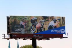 2016 Fall Marketing Campaign -Static Billboard - Skirmish Paintball
