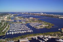 Halifax River views of bridges and marina