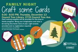 Family Night: Craft Some Cards