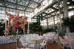 Conservatory Wedding reception