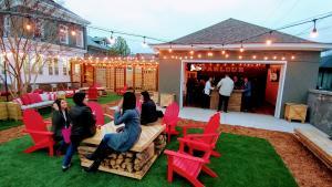 Beer Garden at Parlour