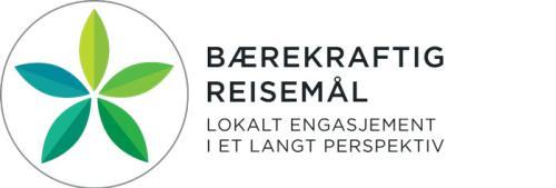 Merket for bærekraftig reiseliv - logo