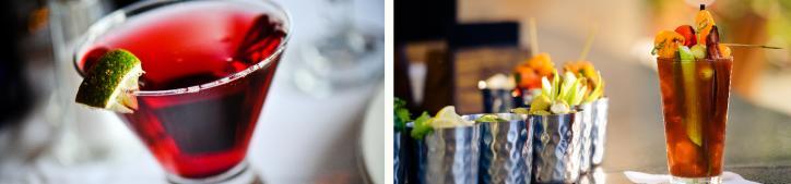 Cocktails at L