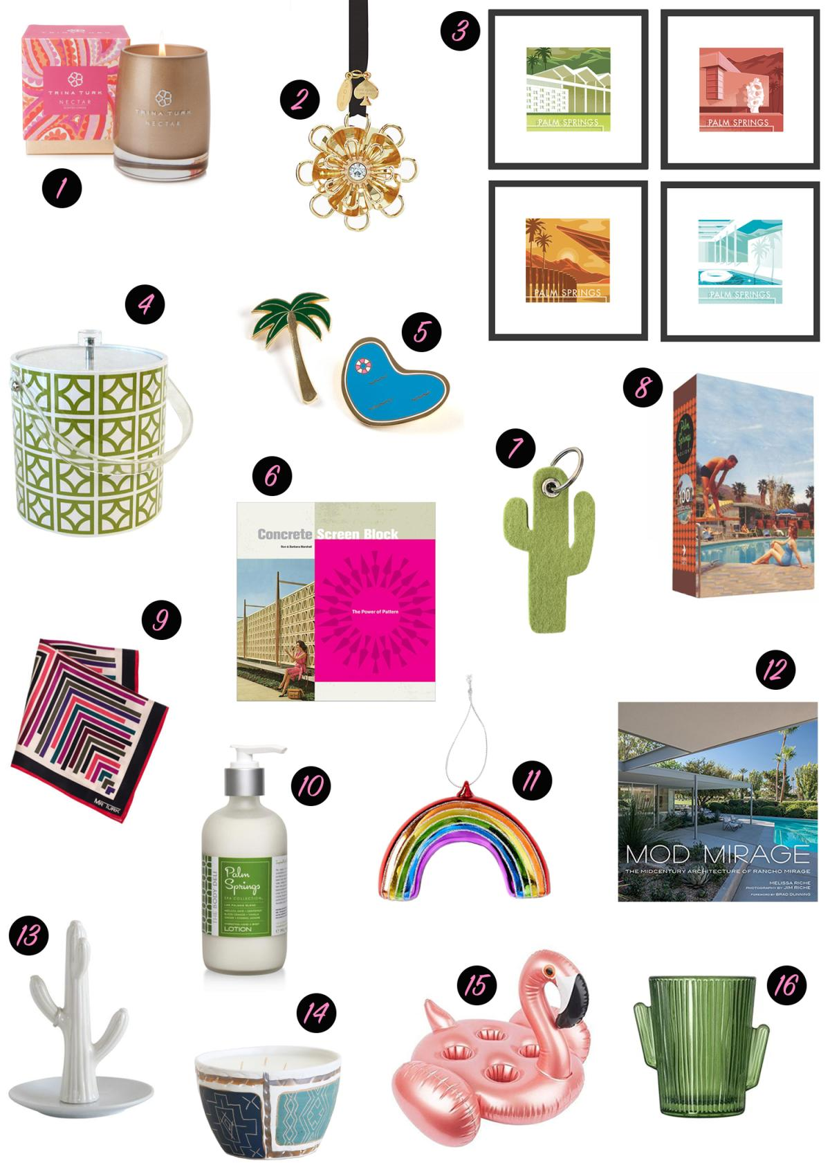 Greater Palm Springs Holiday Gift Guide