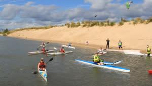 Lake Michigan paddling