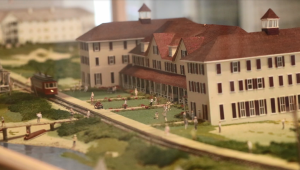 A miniature of Wrightsville Beach at the Museum of History