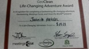 Juanita certificate