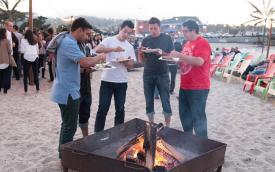 Beach House Bonfire