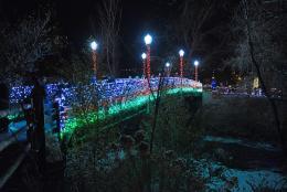 Bridge Christmas Lights