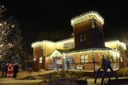 Visitors Center Christmas Lights