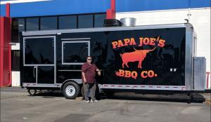 Papa Joe's BBQ Co. truck