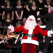 Santa with Symphony