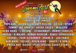 Reggae Sumfest 2018 Night 1 Lineup