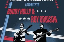 A Night With Buddy and Roy - Tribute to Buddy Holly and Roy Orbison - Cover Photo
