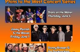 Phins To The West Concert Series: Stars On The Water - Cover Photo