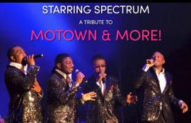 Soul Men starring Spectrum - A Tribute to Motown & More! - Cover Photo