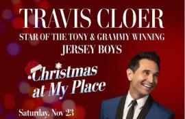 Travis Cloer - Christmas At My Place - Cover Photo