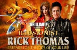 Rick Thomas - Illusionist - Cover Photo