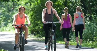Hendricks County residents staying fit!