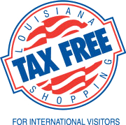 Louisiana Tax Free Shopping for International Visitors