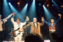 Winter Dance Party - Tribute to Buddy Holly, Ritchie Valens & The Big Bopper - Cover Photo