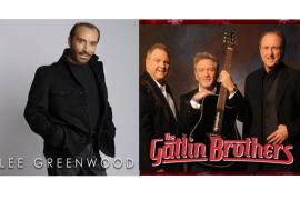 Lee Greenwood and The Gatlin Brothers - Cover Photo