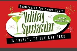Tribute to the Rat Pack Holiday Spectacular - Cover Photo