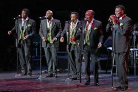 """Dennis Edwards - """"The Official Temptations Review"""" - Cover Photo"""