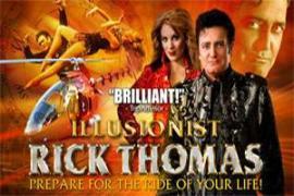 The Magic of Rick Thomas - Cover Photo