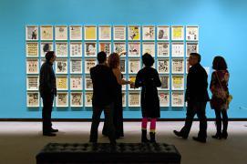 Art Gallery Scene