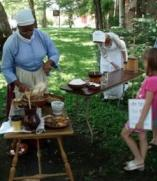 Early Hudson Valley Cooking demonstration