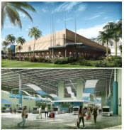 Artist Rendering of Cruise Terminal 4 after completion